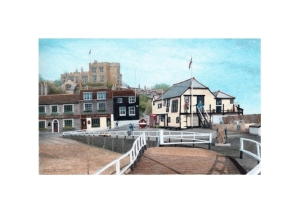 Bleak House, Tartar Frigate & Harbour Master's Office, Broadstairs, Alan Percy Walker
