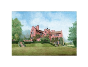 Chartwell, Kent, Watercolour Painting, Alan Percy Walker