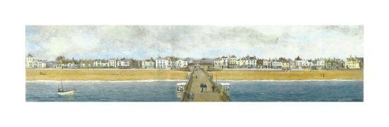 Deal Pier (full) by Alan Percy Walker