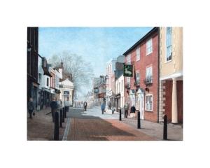 Hythe Main Street, Kent - © Alan Percy Walker