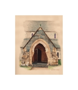 Porch, St Mary's Church, Llanaber  -  © Alan Percy Walker