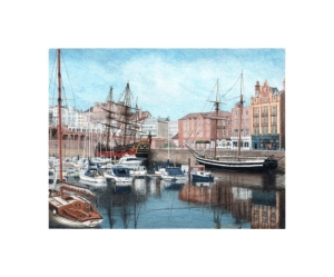 Ramsgate, Kent, Watercolour Painting, Alan Percy Walker