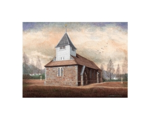 St. John's Parish Church, Penrhyncoch - © Alan Percy Walker
