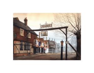 The George Hotel, Crawley - Alan Percy Walker