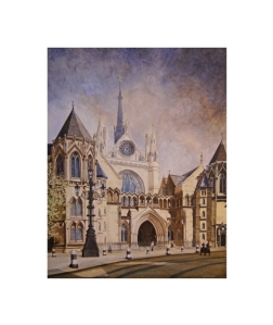 The Royal Courts of Justice, The Strand - Alan Percy Walker
