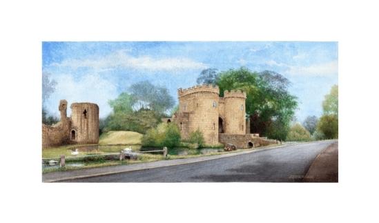 Whittington Castle - Alan Percy Walker