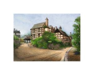 The New Inn (rear), Pembridge - Alan Percy Walker