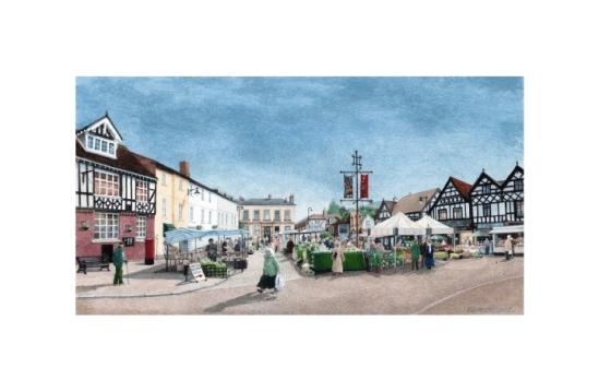 The Open Market, Leominster - Alan Percy Walker