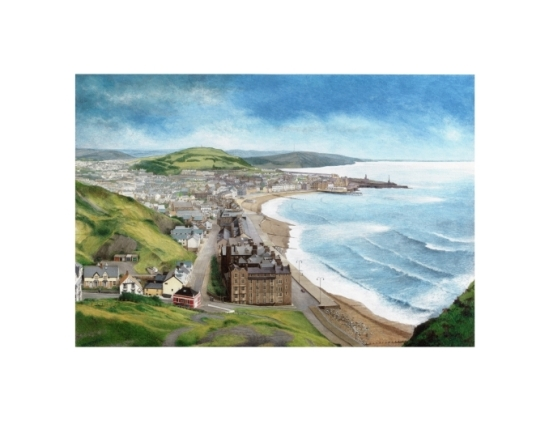 Aberystwyth from Constitution Hill - Alan Percy Walker