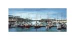 Aberystwyth MarinaWatercolour Painting - Alan Percy Walker