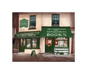 Antiquarian Bookshop, Holt, Norfolk - © Alan Percy Walker