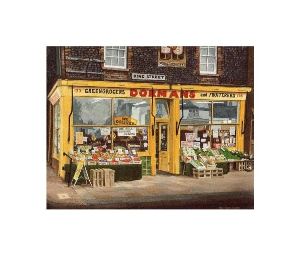 Dorman's Greengrocers and Fruiterers, Ramsgate, Kent - © Alan Percy Walker