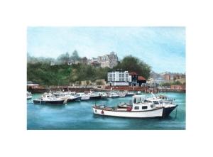 Folkestone Harbour - Alan Percy Walker