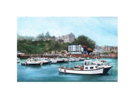 Folkestone Harbour - Alan Percy Walker