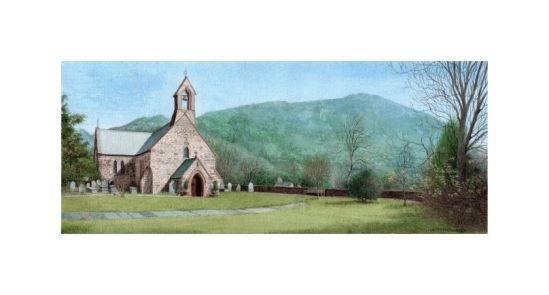 St Mary's Church Beddgelert 3