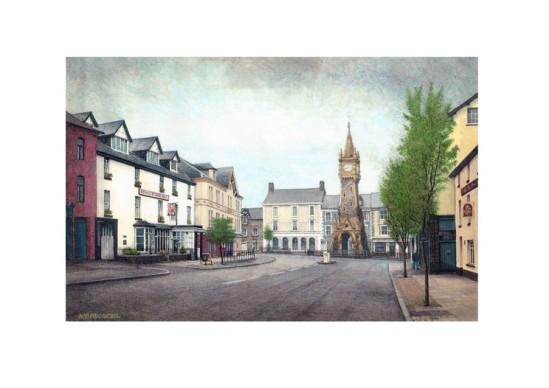 Machynlleth by Alan Percy Walker